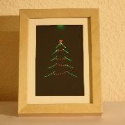 Edge lit displays auf for Beleuchteter tannenbaum