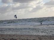 Kitesurfen vor Sylt