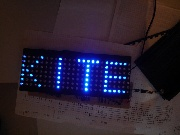 Test der LED-Matrix